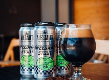 image of Speedway Stout Variant #2: Mostra Coffee & Coconut courtesy of AleSmith Brewing