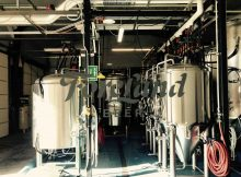 A peek in the brewery at ForeLand Beer. (photo by Jessica Wilmes)