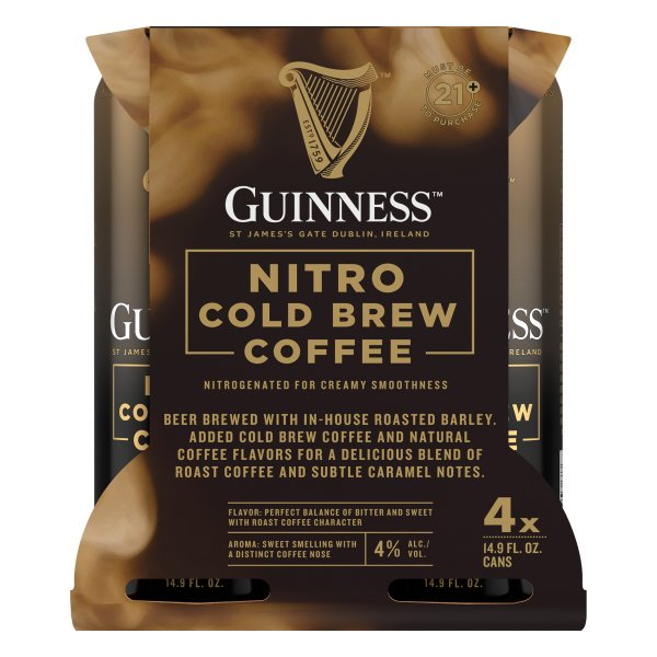 Guinness Nitro Cold Brew Coffee 4-Pack