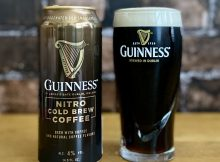 Guinness Nitro Cold Brew Coffee timely served on National Cold Brew Day.