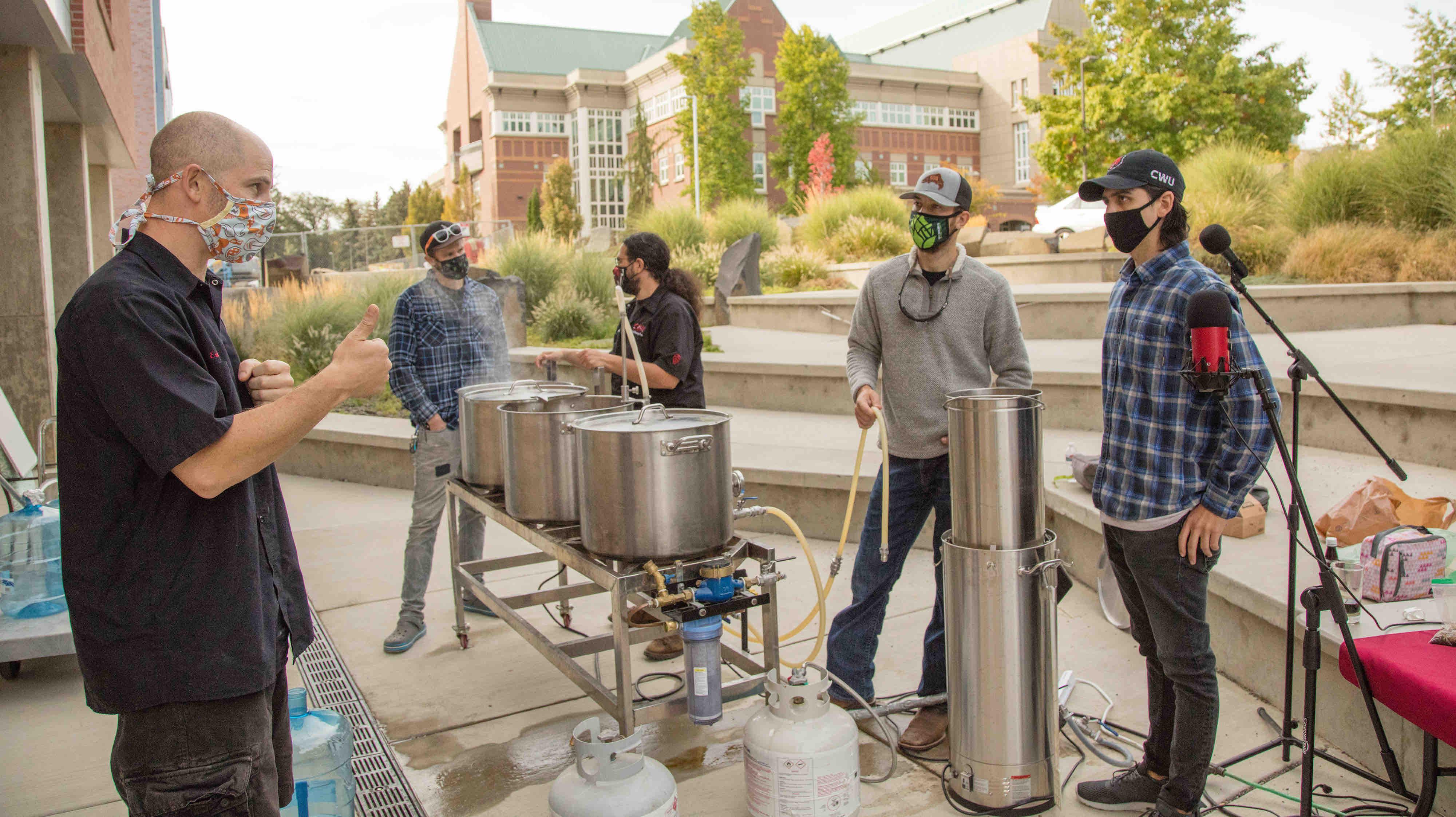 Image of CWU Brewing courtesy of Central Washington University