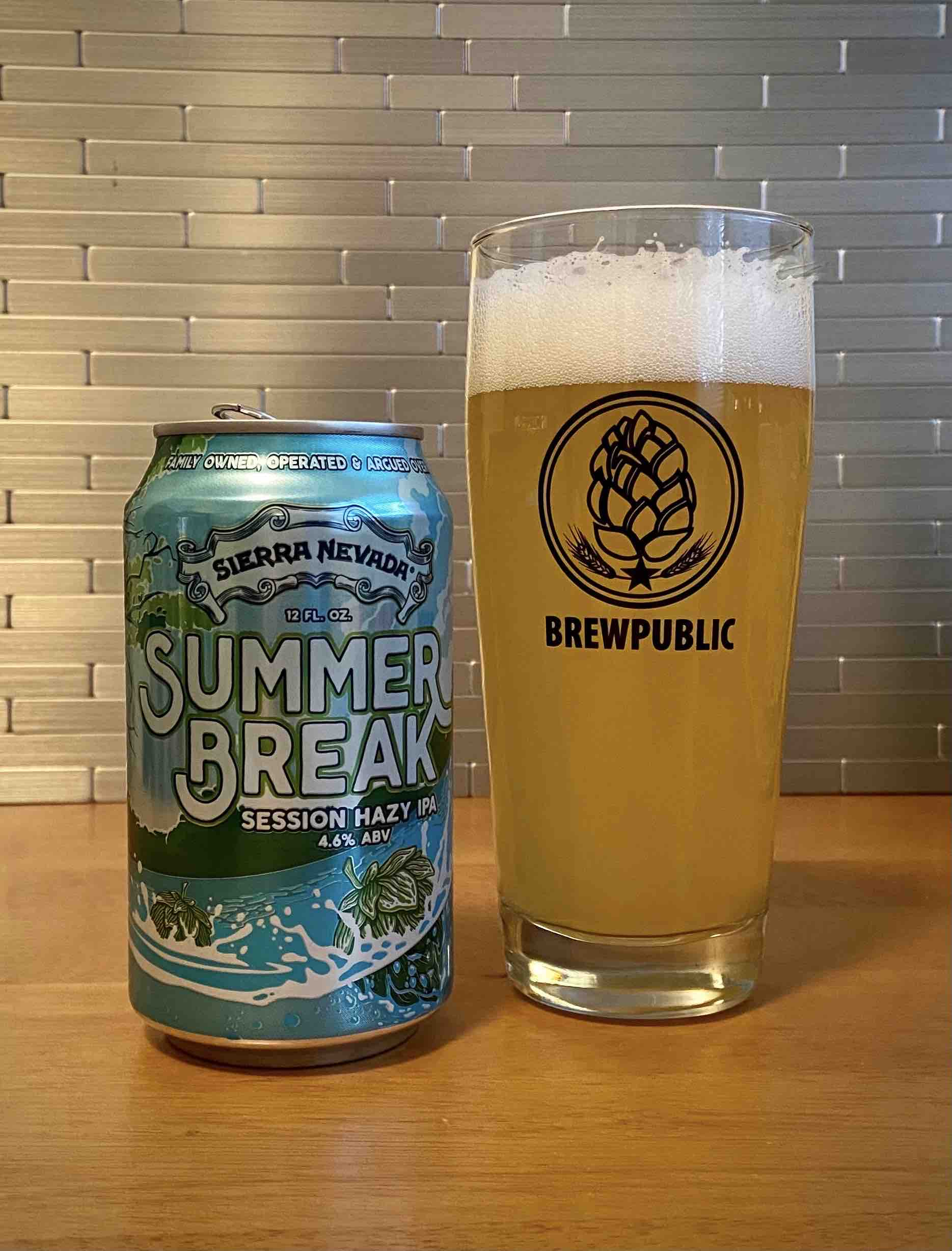Sierra Nevada Summer Break Session Hazy IPA offers up juicy flavors in a sessionable beer for the summer.