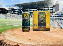 Widmer Brothers Brewing & Portland Timbers IPA 'Til I Die Can and 4-pack. (image courtesy of Widmer Brothers Brewing)