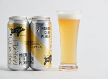 Zupan's Markets partners with Von Ebert Brewing on Farm To Market Modern Citra Pilsner. (image courtesy of Zupan's Markets)