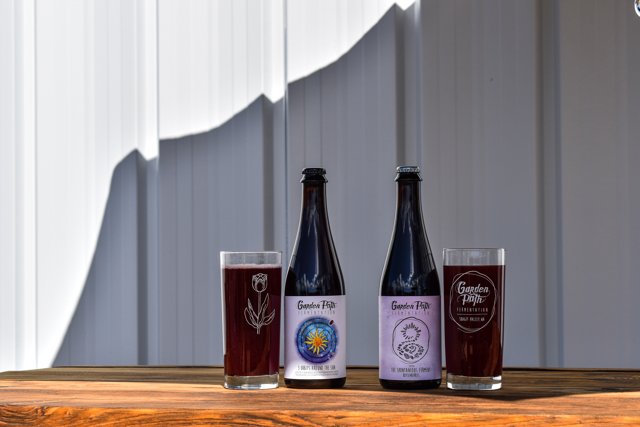 image of 3 Orbits Around the Sun and The Spontaneous Ferment: Boysenberries courtesy of Garden Path Fermentation
