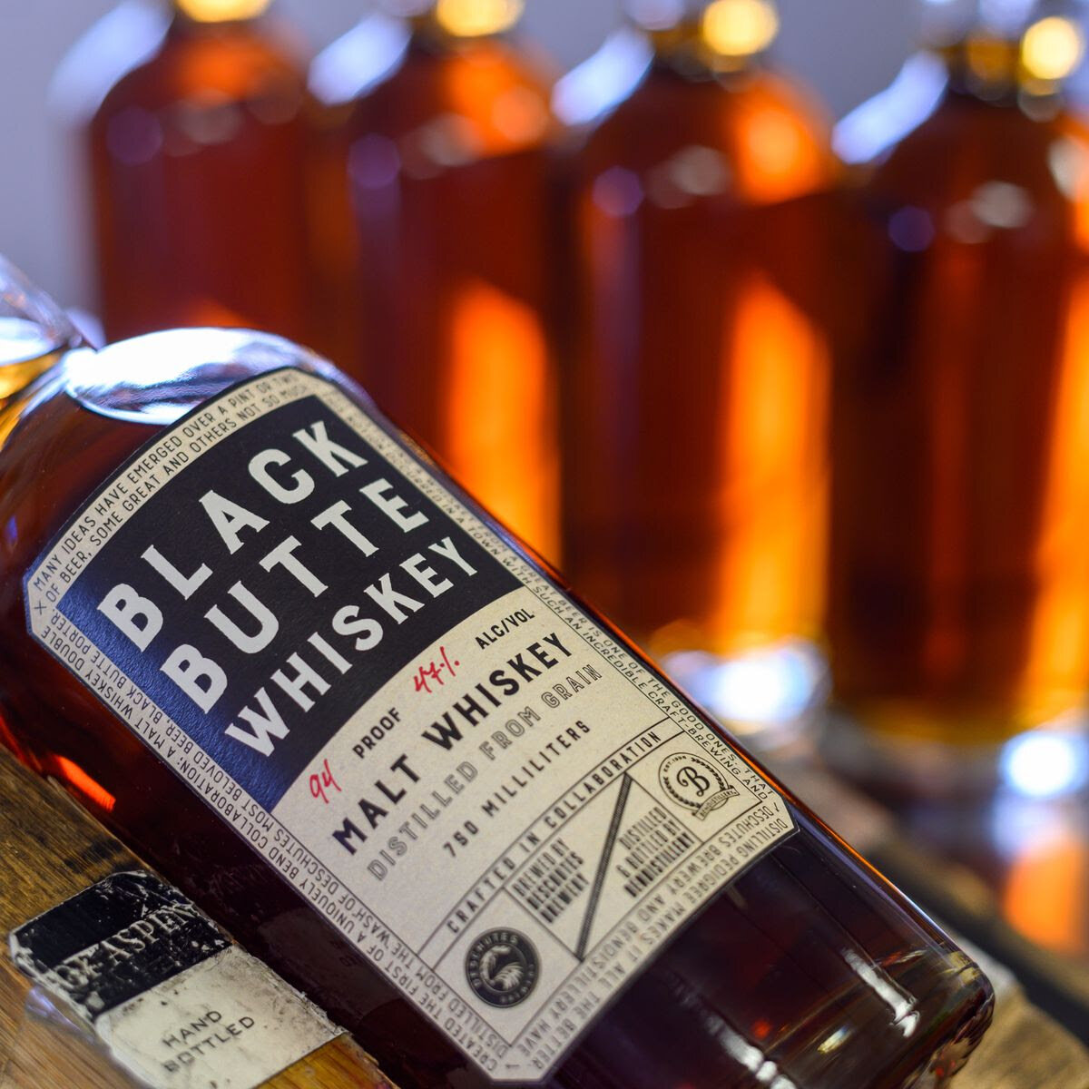 image of 5 Year Black Butte Whiskey courtesy of Deschutes Brewery