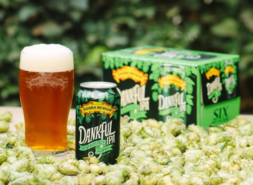 image of Dankful IPA courtesy of Sierra Nevada Brewing Co.