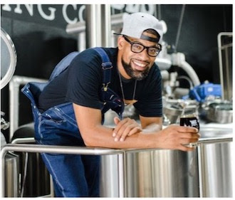 image of Marcus Baskerville, head brewer and co-founder of Weathered Souls Brewing Company, courtesy of the American Homebrewers Association
