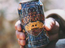 image of Nectaron Single-Hop Hazy IPA courtesy of Firestone Walker Brewing