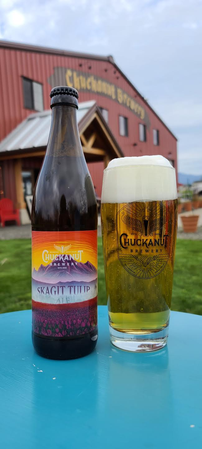 image of Skagit Tulip Ale courtesy of Chuckanut Brewery