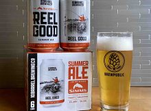 10 Barrel Brewing and Simms Fishing Products partner on Reel Good Summer Ale.