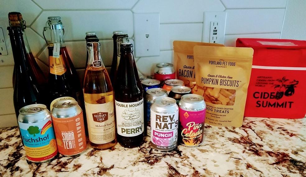 Cider Summit Portland returns with 2021 Festival-To-Go Tasting Kits. (image courtesy of Cider Summit)