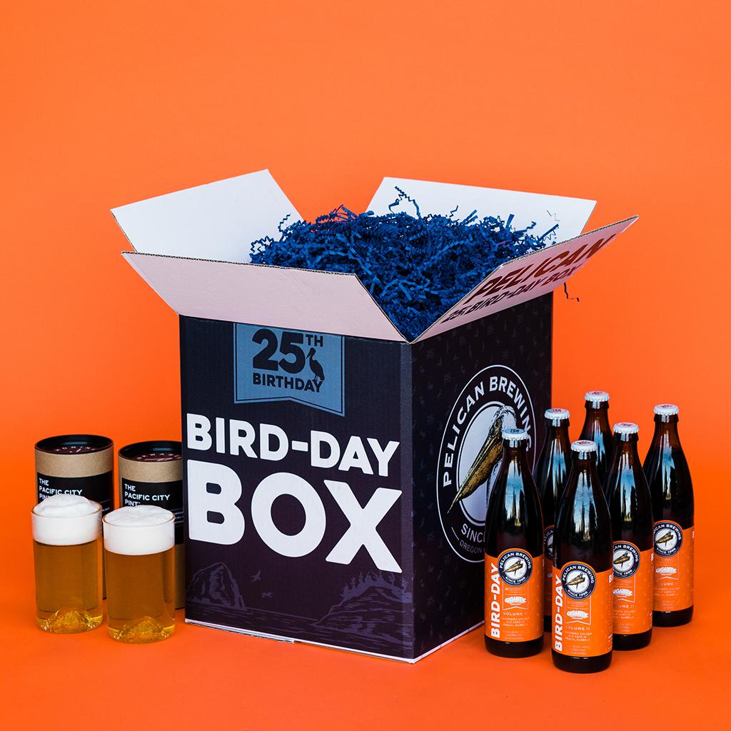 Pelican Brewing Bird-Day Box Volume II featuring Ben Love of Gigantic Brewing