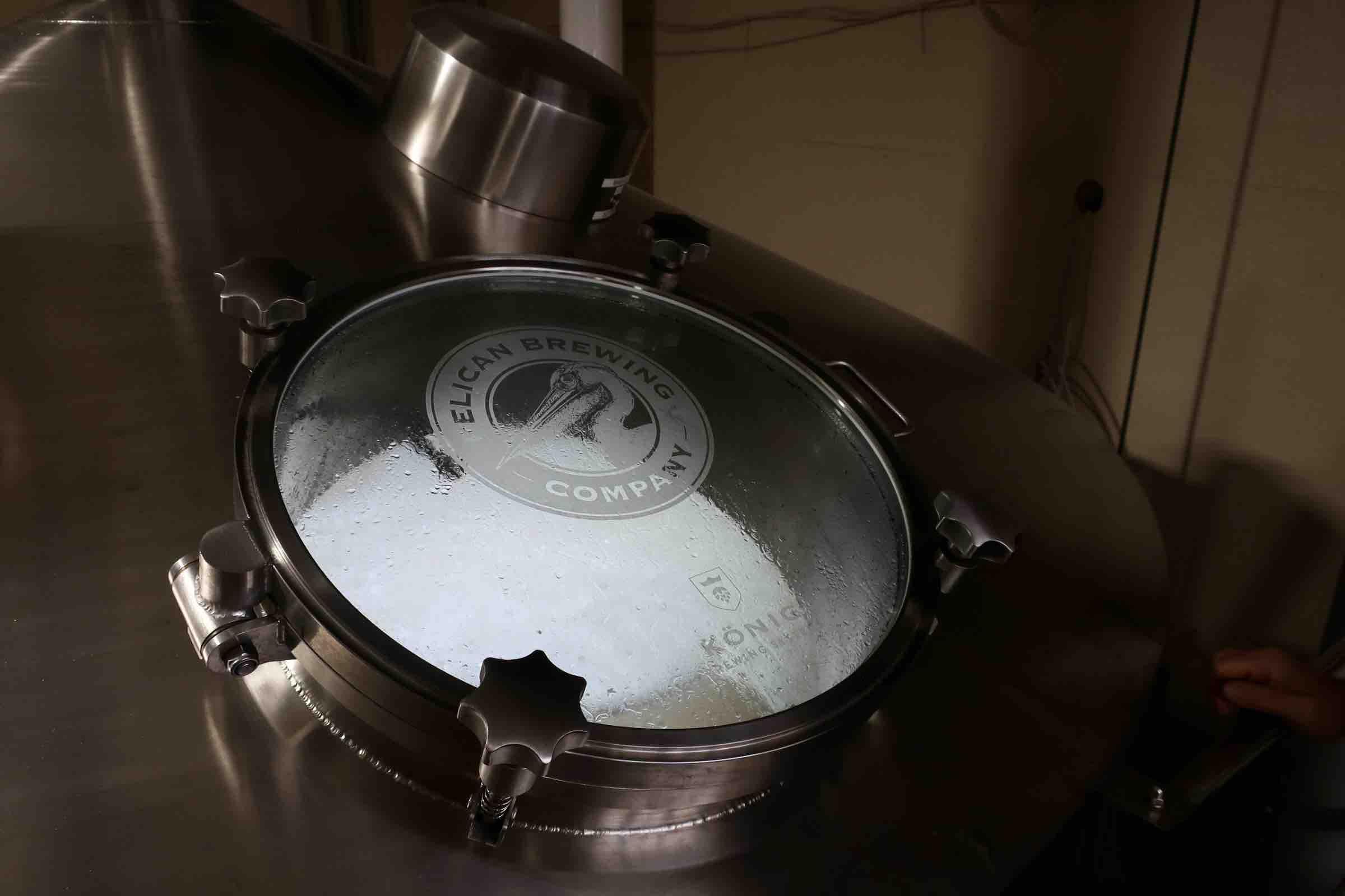 Pelican Brewing in Tillamook, Oregon.