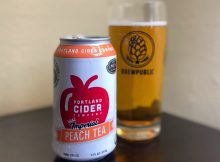 Portland Cider Co. collaborates with Steven Smith Teamaker on the new Imperial Peach Tea Cider.