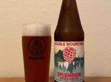 Splender Single Hop IPA from Double Mountain Brewery.