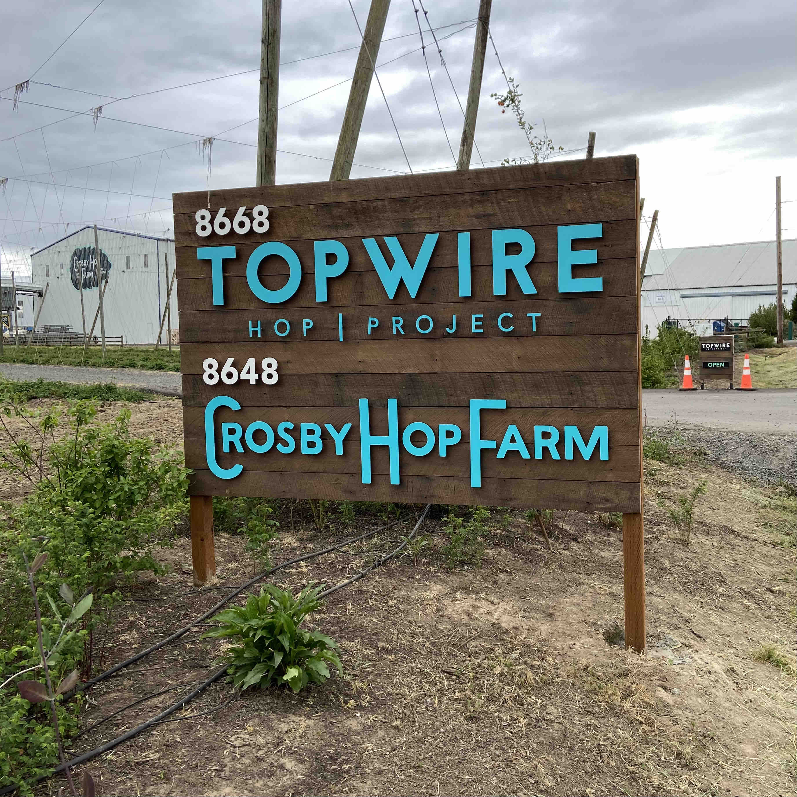 Welcome to TopWIre Hop Project down Lupulin Lane.