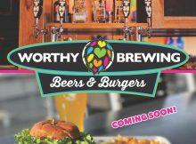 Worthy Brewing Beers & Burger