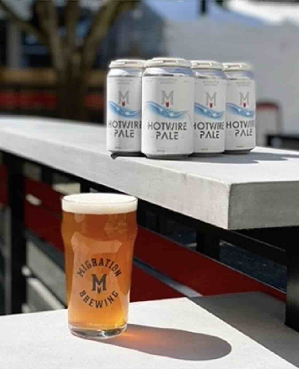 image of Hotwire Migration Collaboration courtesy of Migration Brewing
