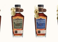 Davidson ReseWhiskey..jrve Tennessee Straight Sour Mash Whiskey, Straight Rye Whiskey, Four Grain Bourbon, and Straight Bourbon Whiskey.