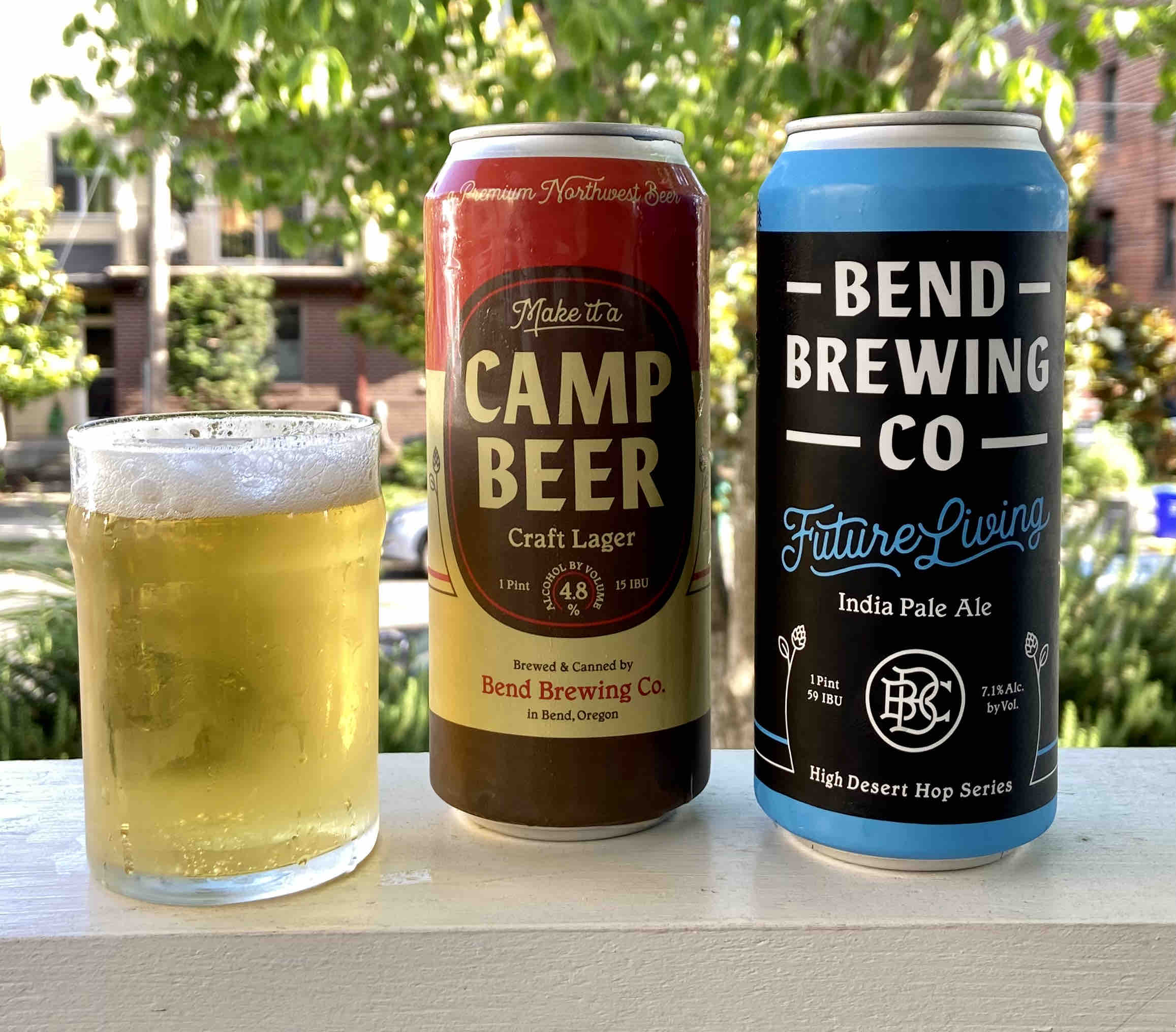 Camp Beer Craft Lager and Future Living IPA from Bend Brewing Co. joins its lineup of cans in time for summer.