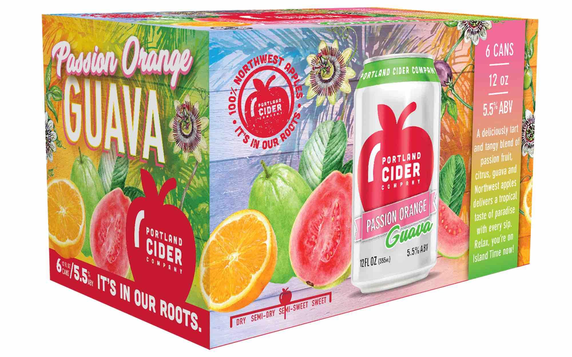 Portland Cider Passion Orange Guava