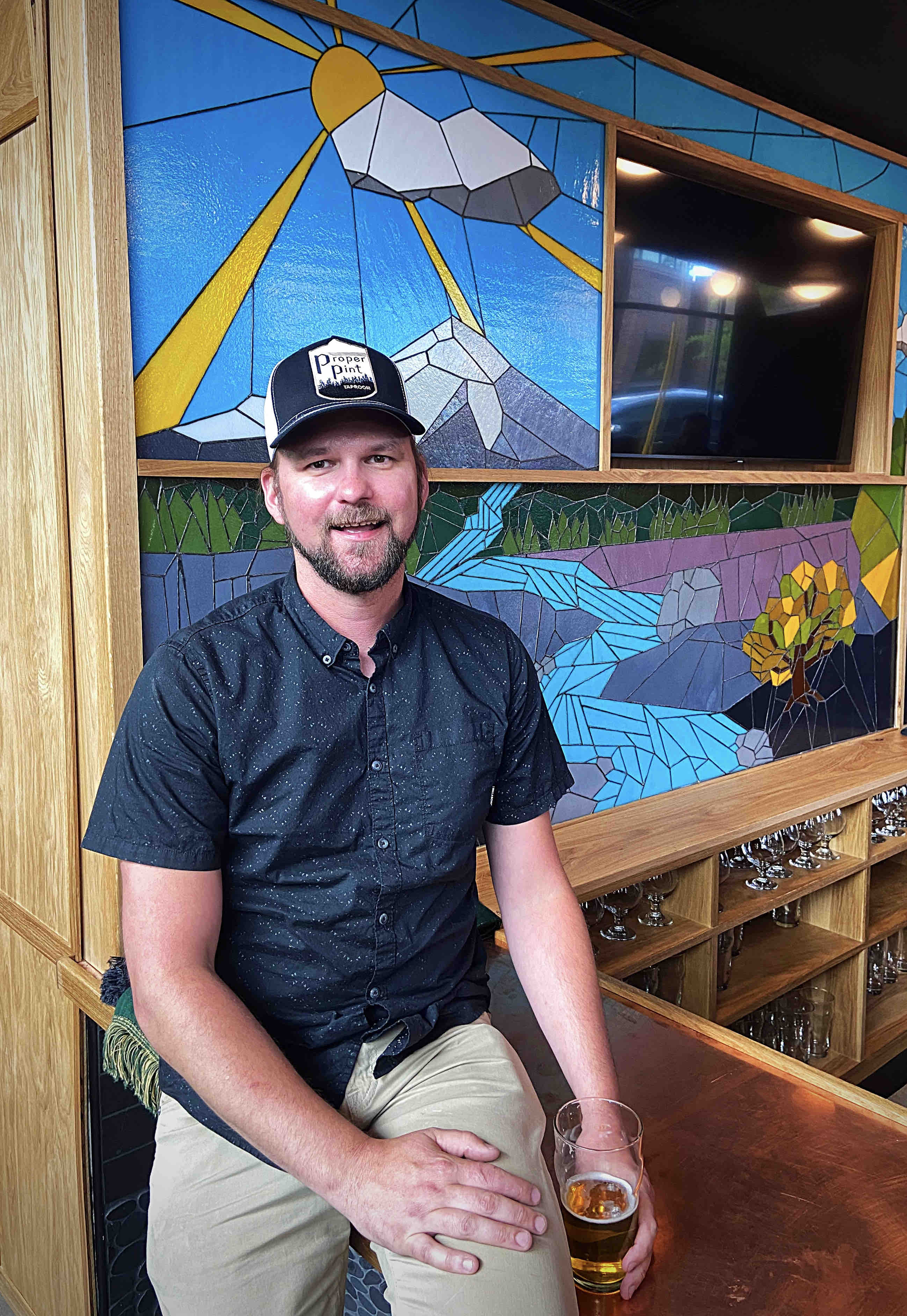 Sean Hiatt, owner of Proper Pint, is excited to bing beer drinkers a new location for craft beer and cider to Portland's Multnomah Village.