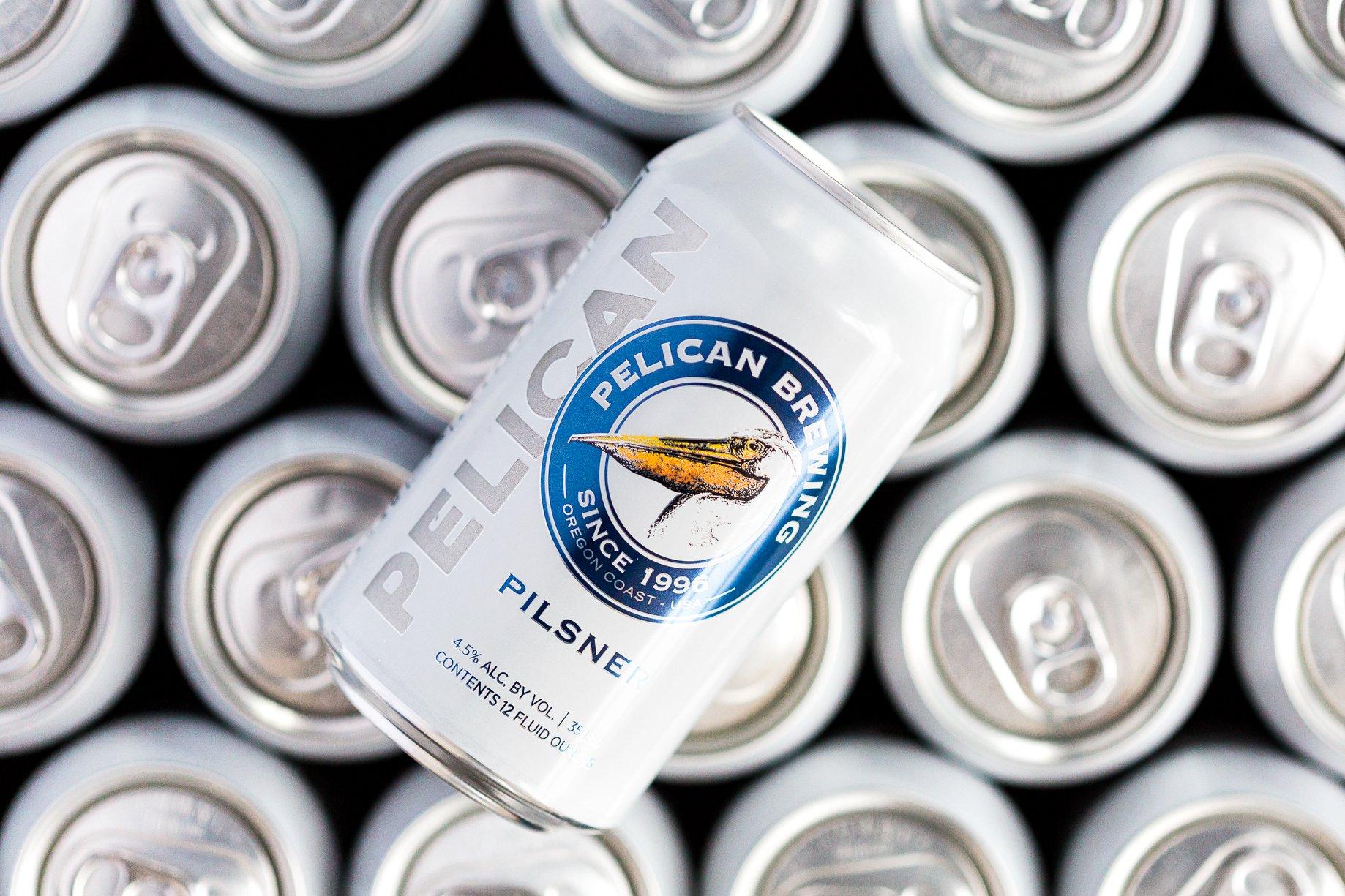 image of Pelican Pilsner courtesy of Pelican Brewing Co.