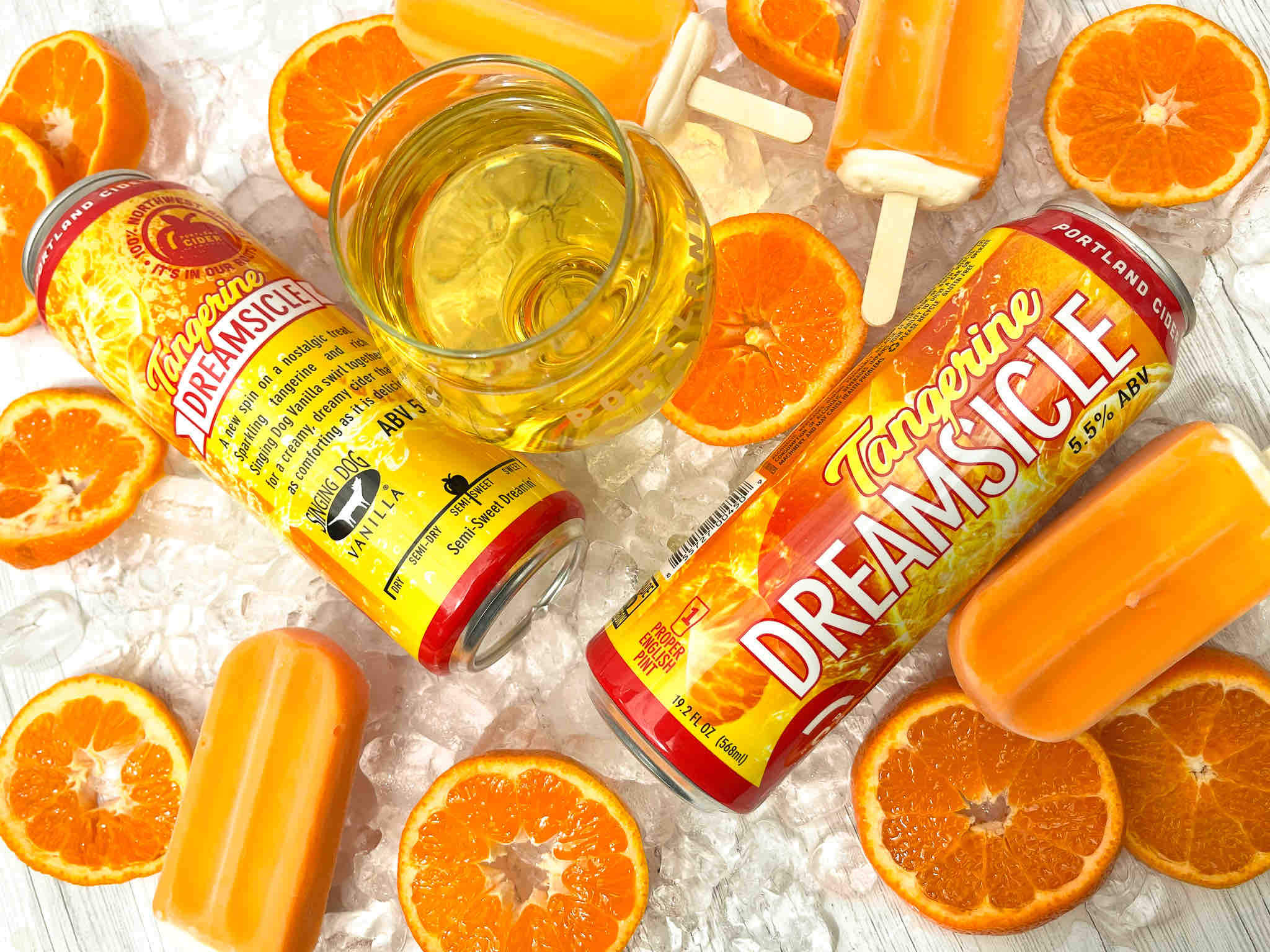 image of Tangerine Dreamsicle courtesy of Portland Cider Co.