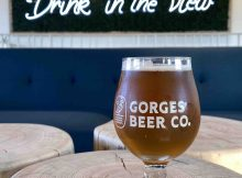 Drink in the view at Gorges Beer Co. copy