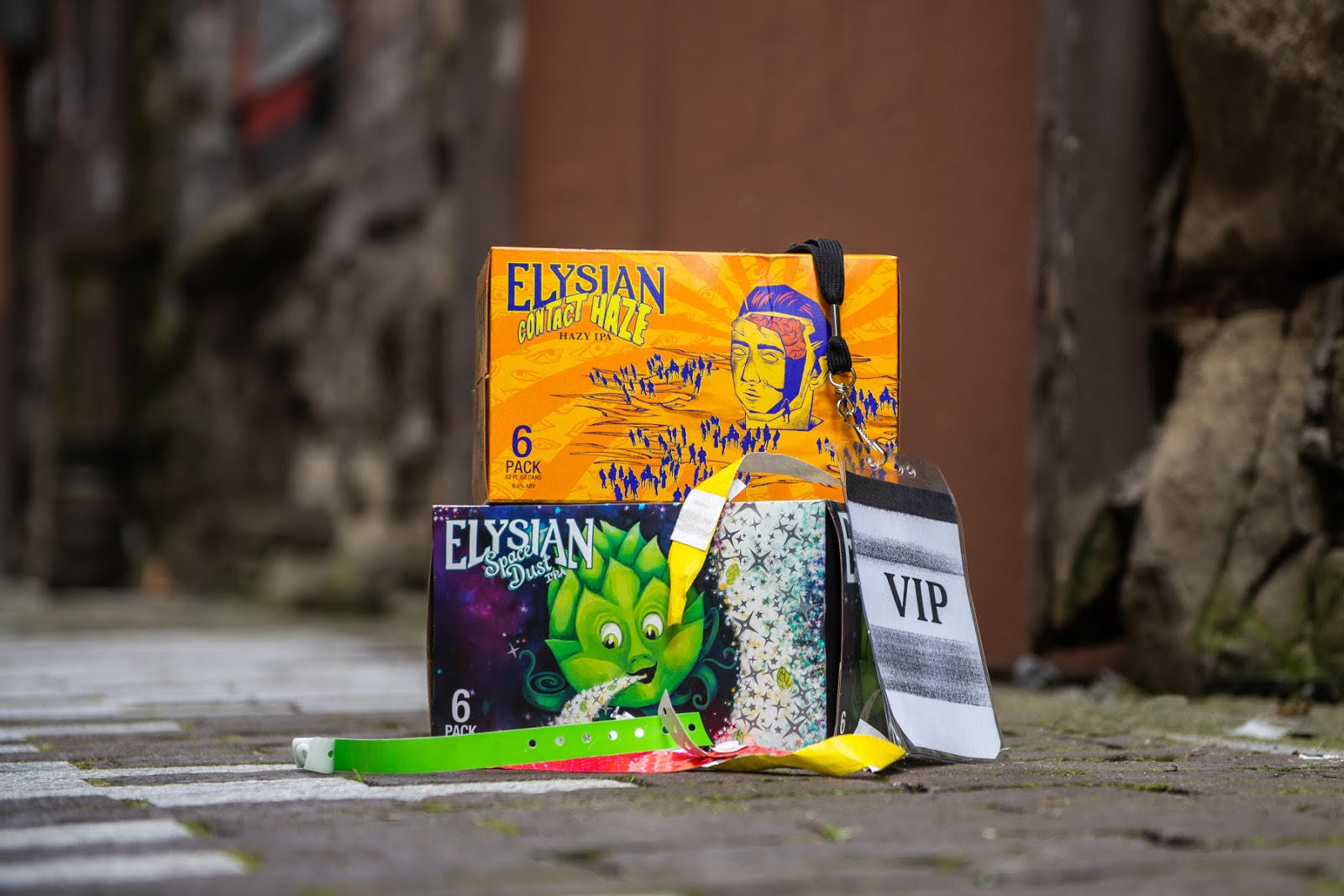 Elysian Brewing is celebrating the return of live music with Cheers to Live Music. (image courtesy of Elysian Brewing)