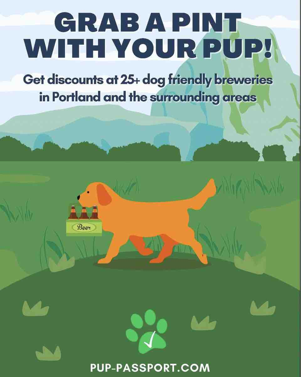 PDX Pup Passport saves you money at many area breweries.