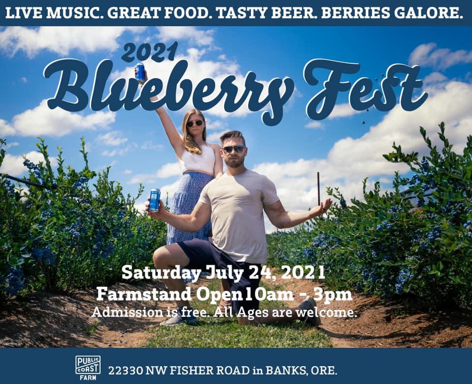 Public Coast Farm Blueberry Fest