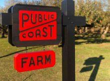 Public Coast Farm, part of Public Coast Brewing, is located in Banks, Oregon. (image courtesy of Public Coast Brewing)