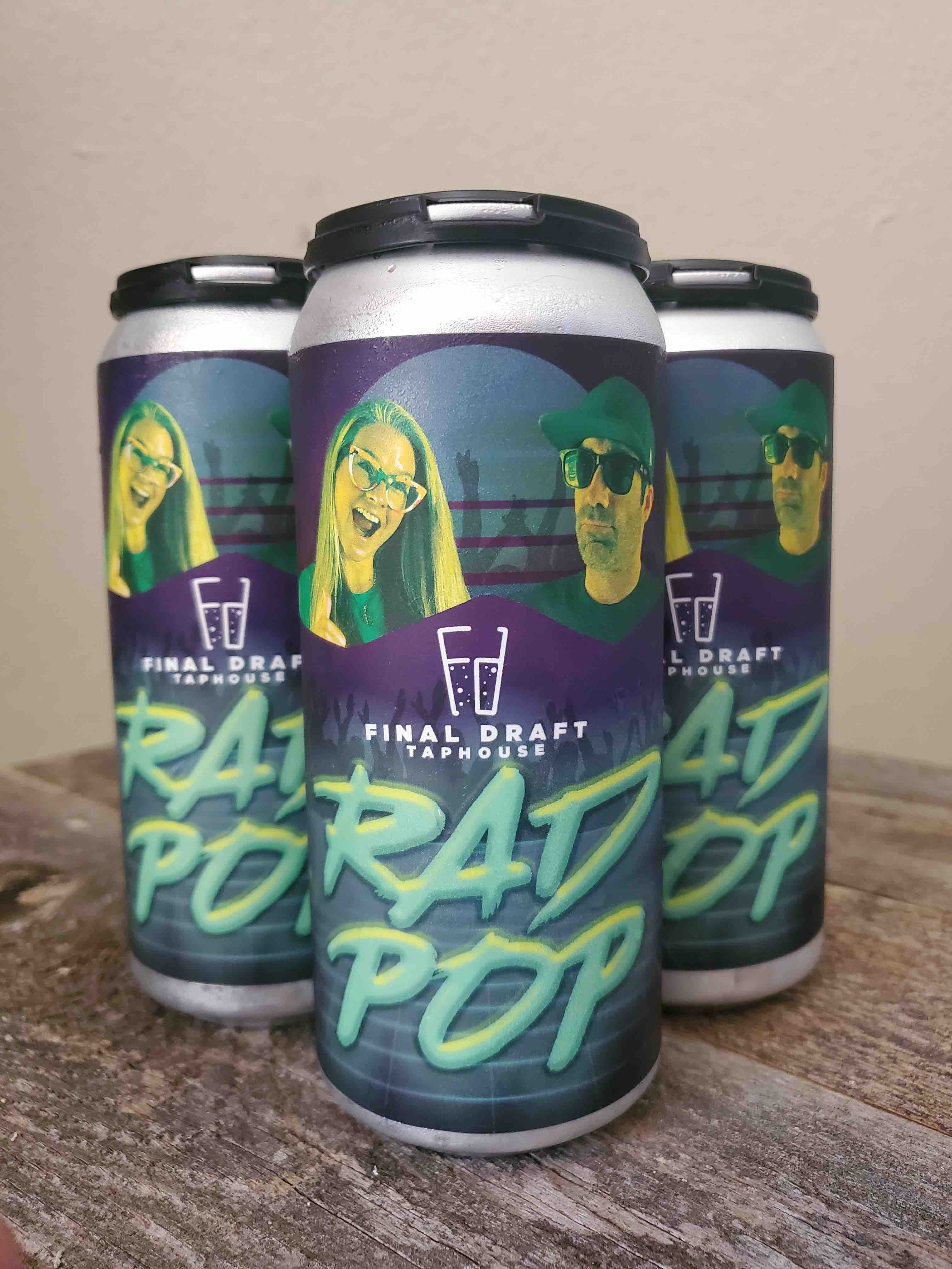 Rad Pop brewed by Brothers Cascadia for Final Draft Taphouse 4th Anniversary. (image courtesy of Final Draft Taphouse)