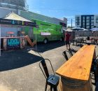 The Level 3 Pop-Up will take place each week from Friday - Sunday at the future home of Level 3 at 1447 NE Sandy Blvd in Portland. (image courtesy of Level Beer)
