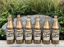 The Oregon Beverage Recycling Cooperative will hide six golden bottles throughout Oregon. (image courtesy of the Oregon Beverage Recycling Cooperative)