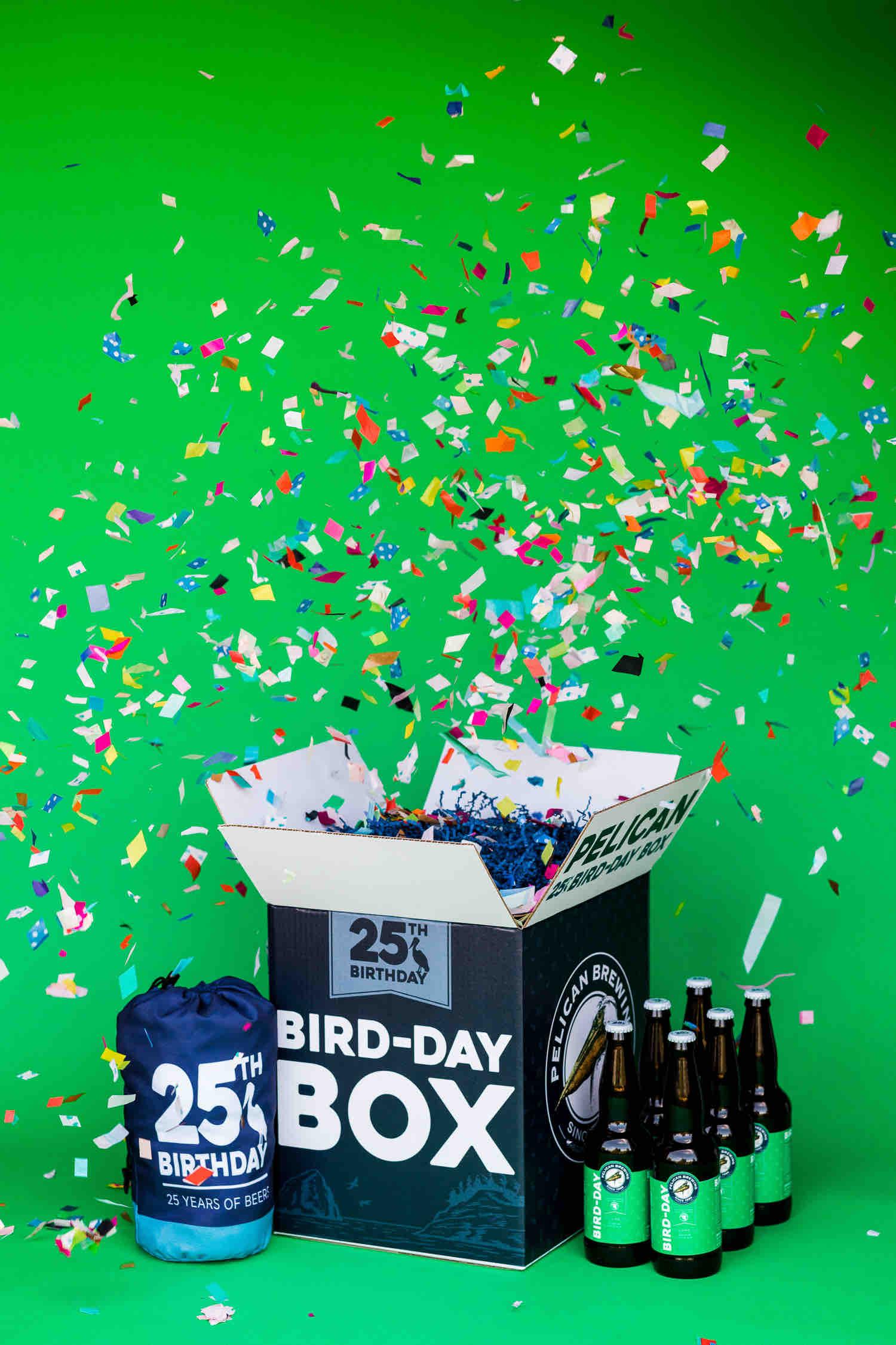 image of Bird-Day Box Volume III courtesy of Pelican Brewing Company