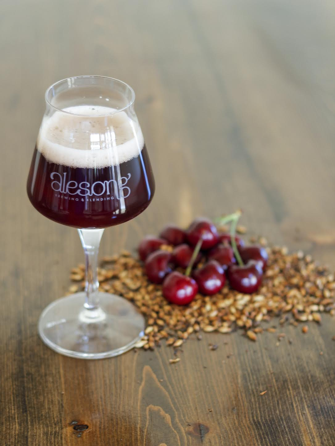 image of Cherry Parliament courtesy of Alesong Brewing & Blending