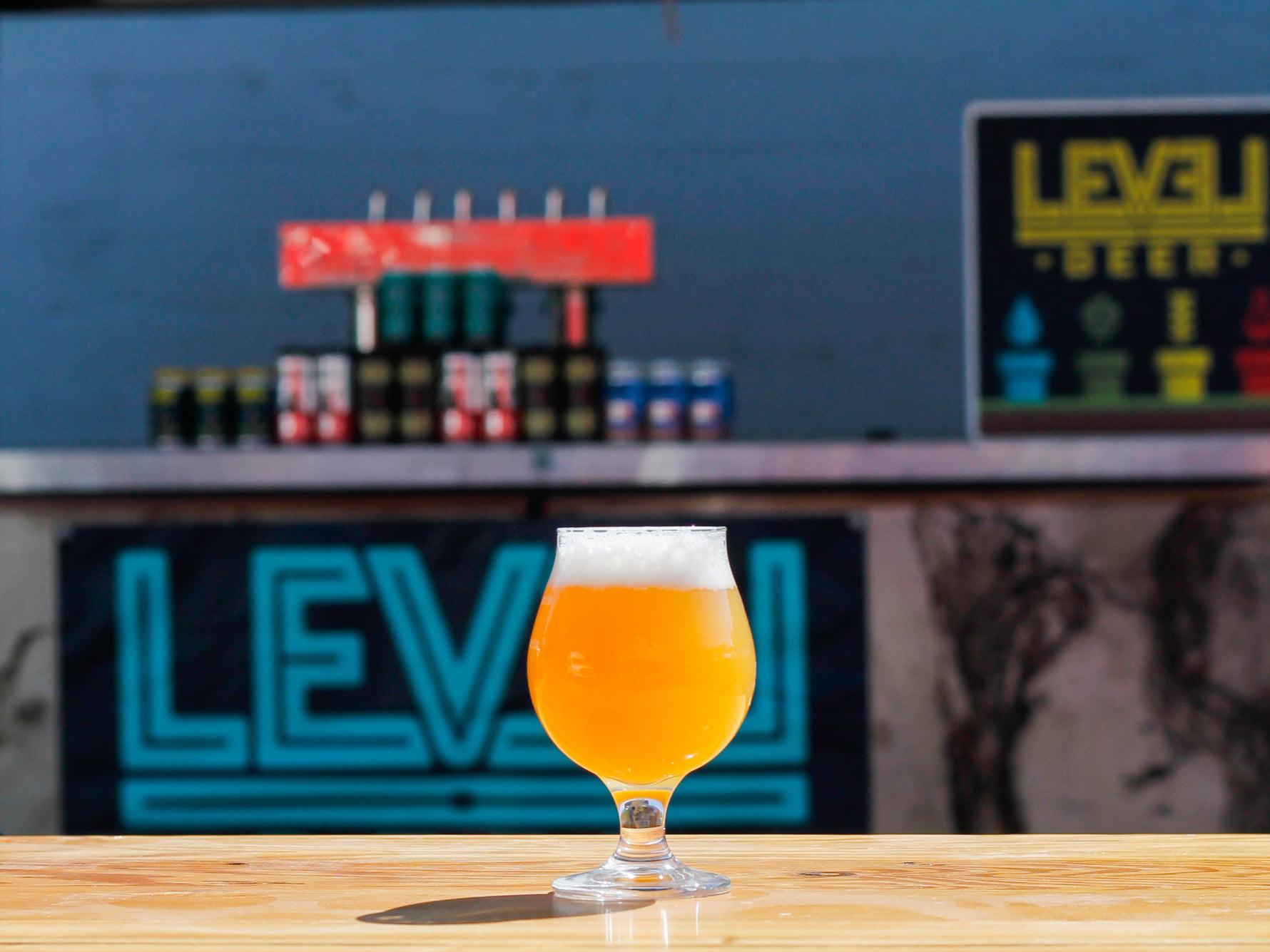 image of Level 3 courtesy of Level Beer