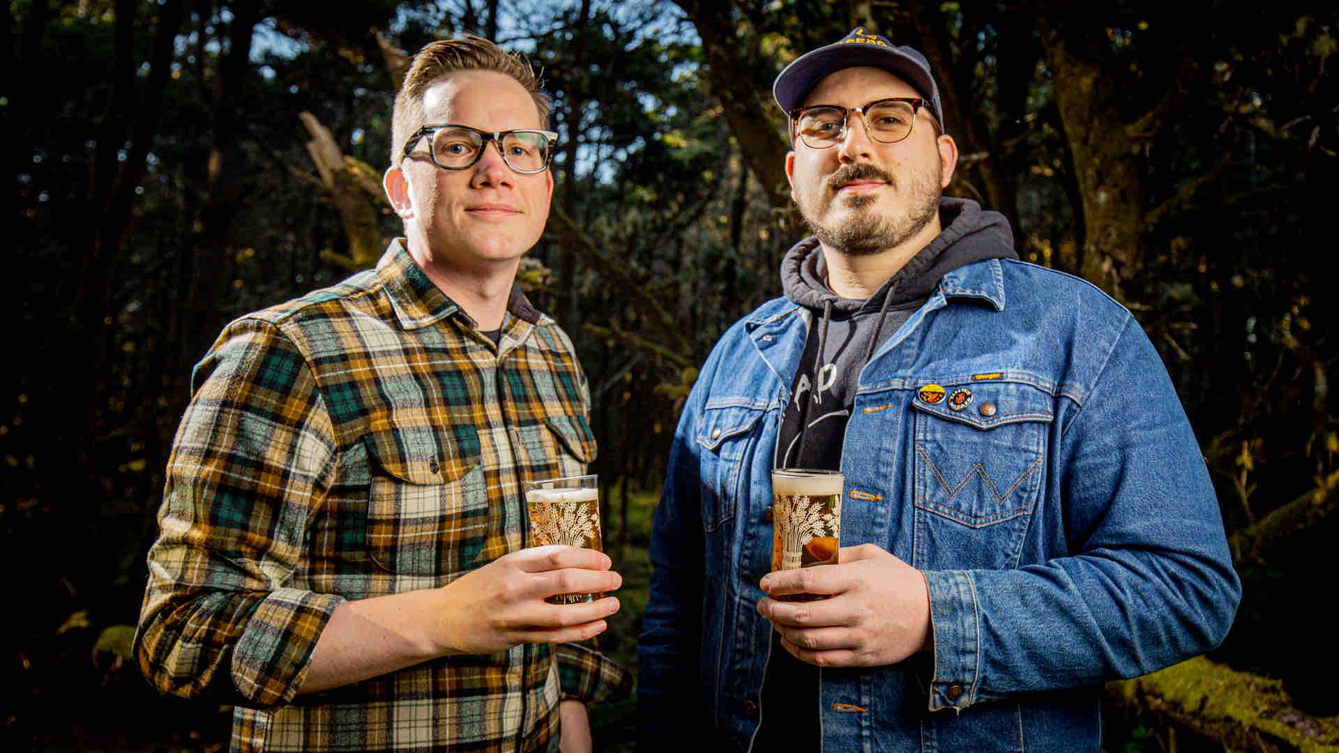 image of Nathan Lampson and Dave Coyne