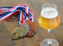 image of award-winning Touch of Brett courtesy of Alesong Brewing & Blending
