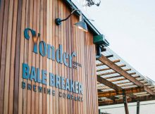 Bale Breaker x Yonder Taproom that includes the new Wise Fool Spirits joint venture in Seattle, Washington. (image courtesy of Bale Breaker Brewing)