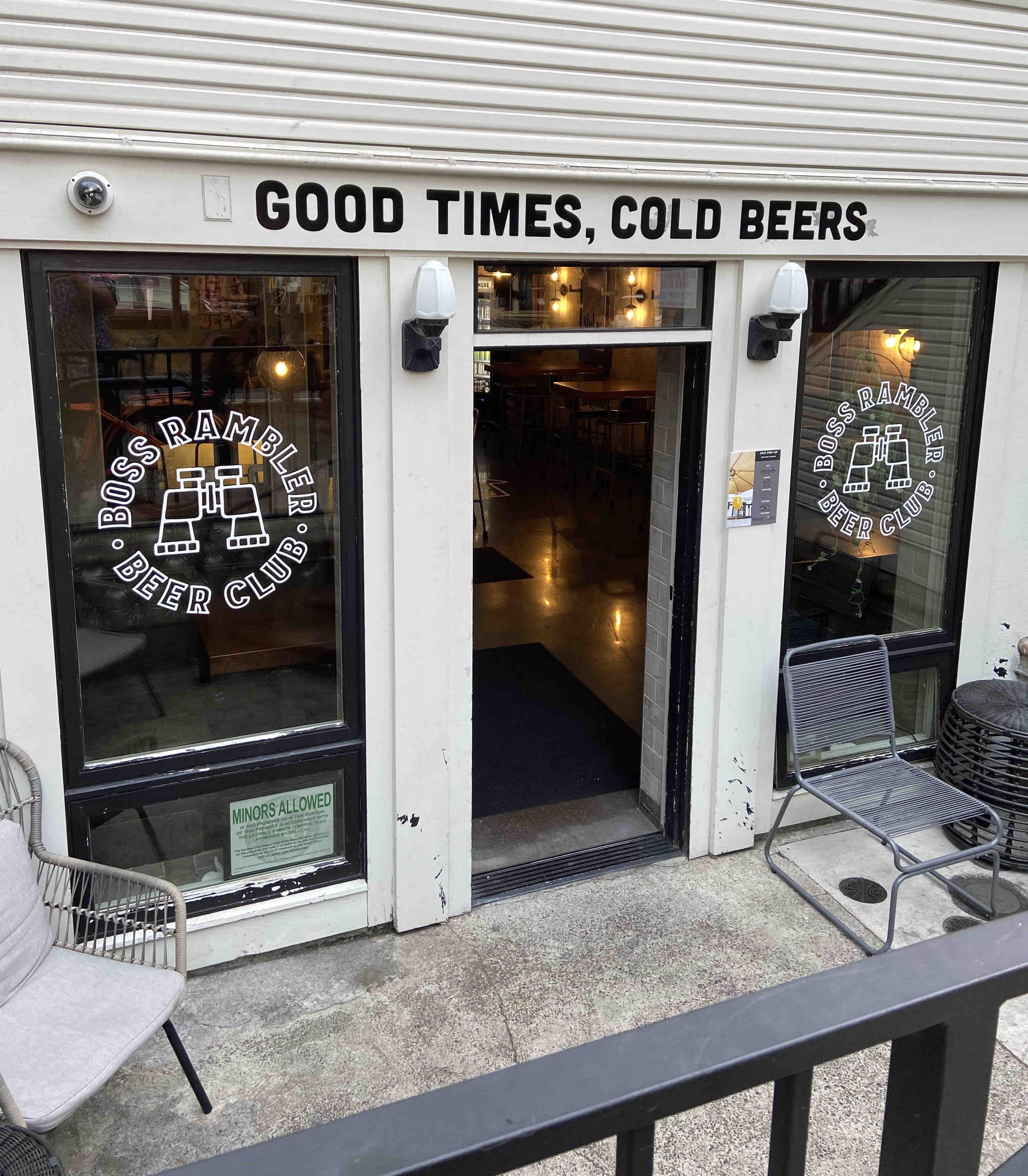 Boss Rambler Beer Club August Residency at Function PDX in Northwest Portland.