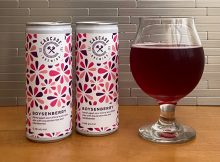 Cascade Brewing releases Boysenberry in 250mL slim cans.