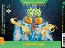 Ecliptic Brewing Partners with Stoup Brewing on Cosmic Collaboration Pineapple Gose