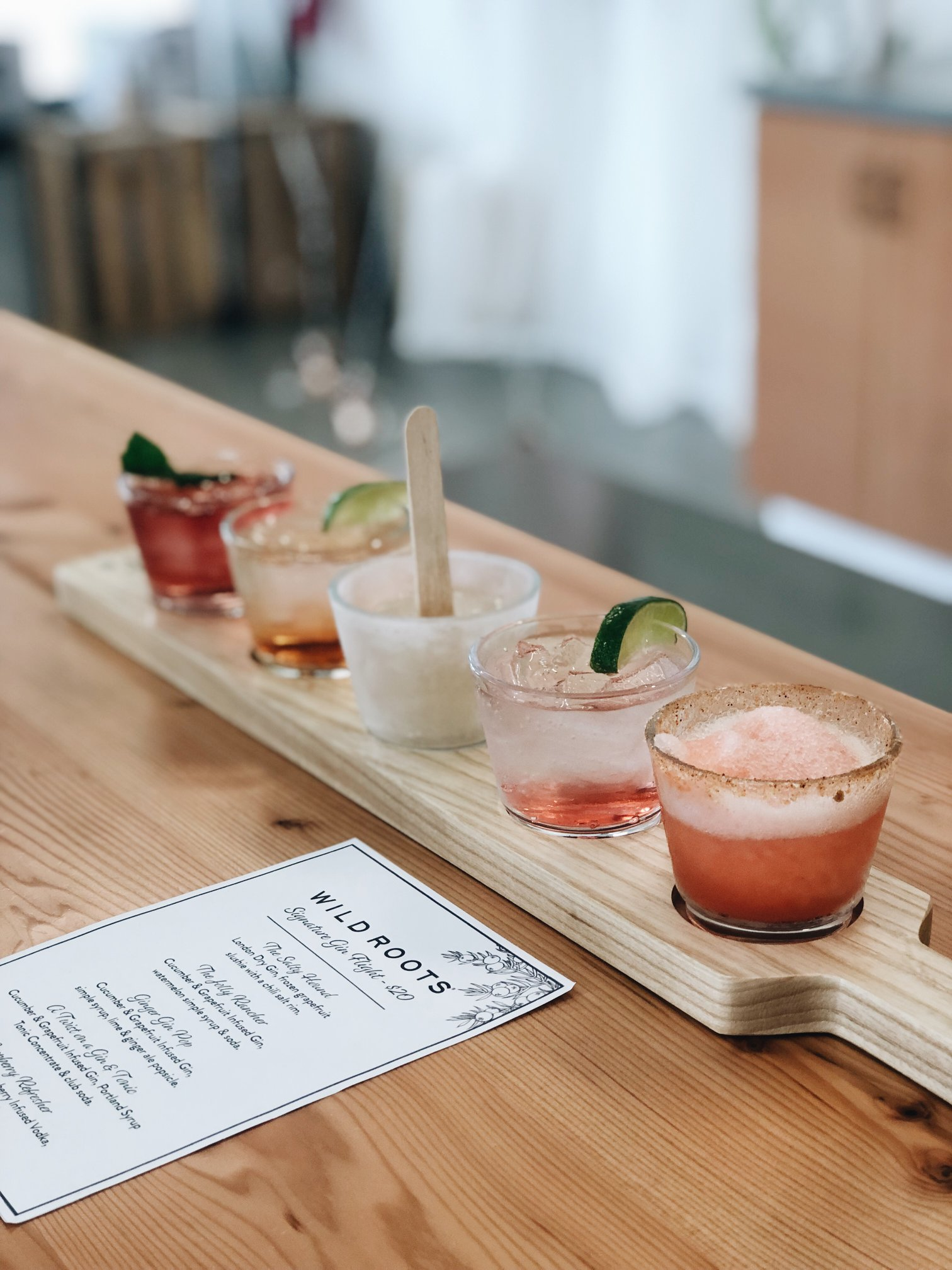 image of a Flight courtesy of Wild Roots Spirits