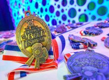 Great American Beer Festival Medals. Photo © Brewers Association