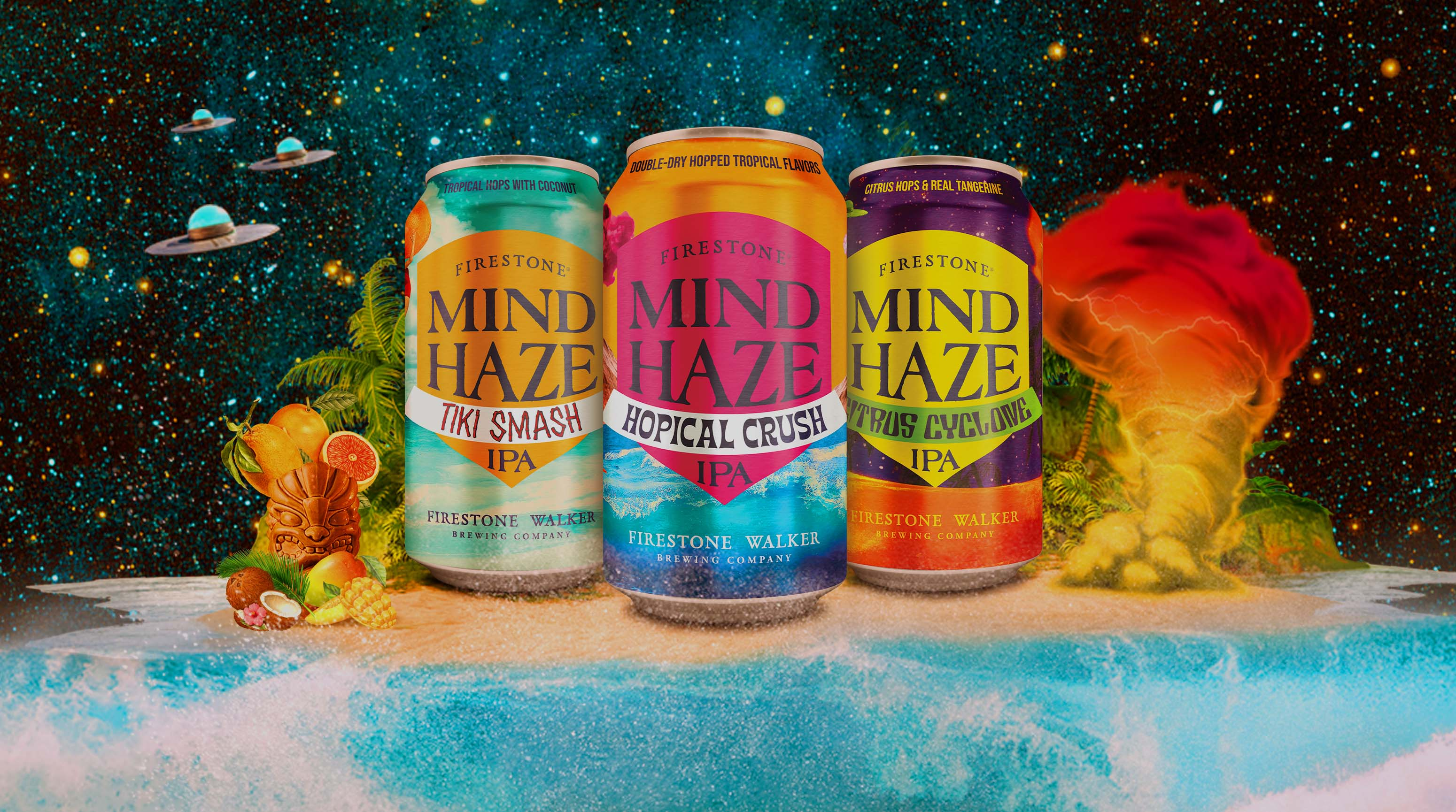Mind Haze Tropical Hazy Mixed Pack from Firestone Walker