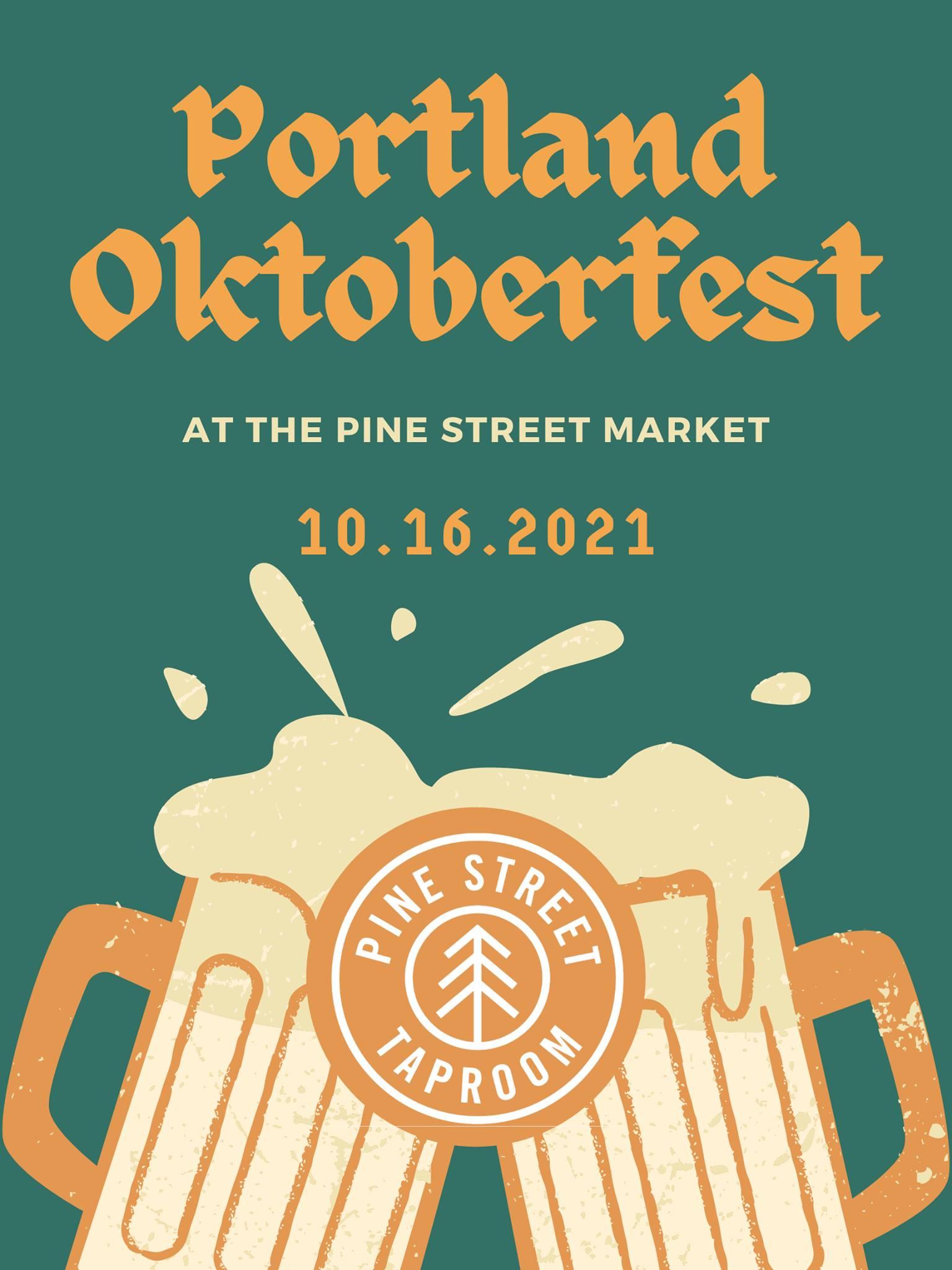 Pine Street Taproom to Host 2021 Portland Oktoberfest